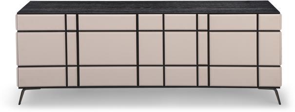 Tartan Mink Leather Sideboard image 2