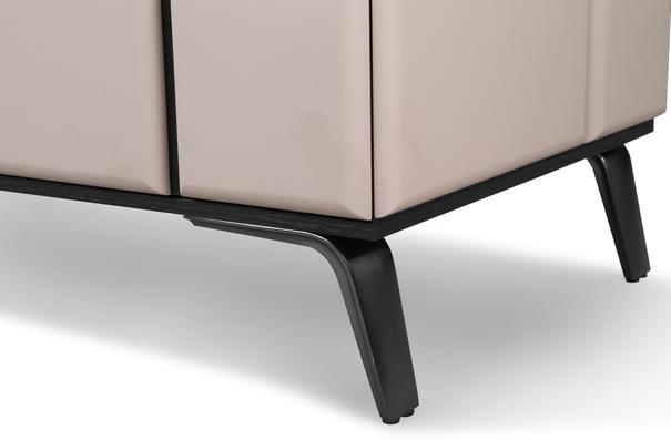 Tartan Mink Leather Sideboard image 5