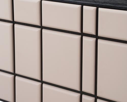 Tartan Mink Leather Sideboard image 6
