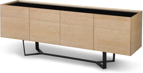 Juno Washed Oak Contemporary Sideboard