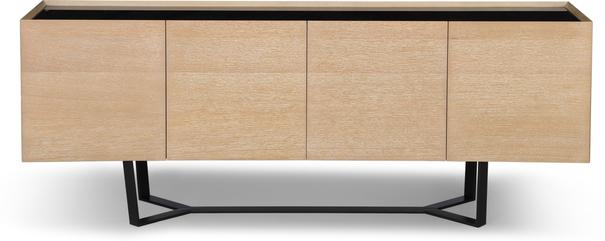 Juno Washed Oak Contemporary Sideboard image 2