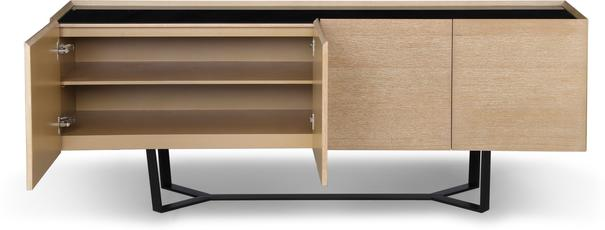 Juno Washed Oak Contemporary Sideboard image 3