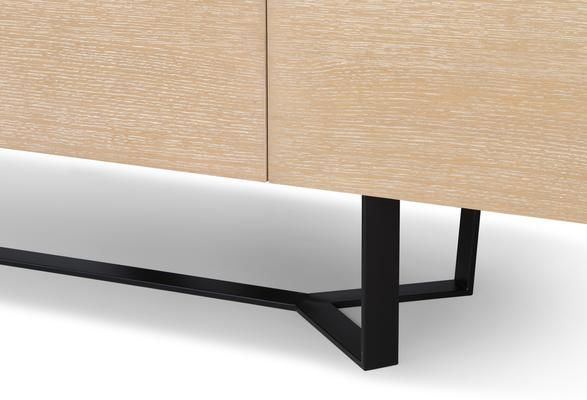 Juno Washed Oak Contemporary Sideboard image 5
