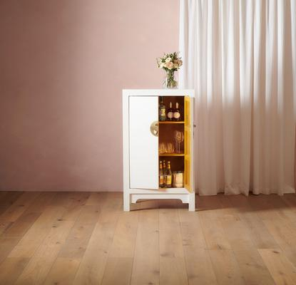 Medium Classic Chinese Cabinet - White image 2