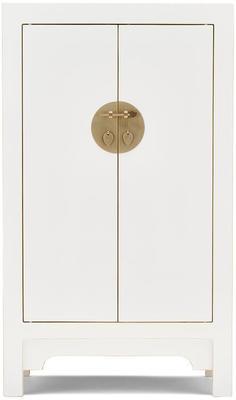 Medium Classic Chinese Cabinet - White image 4