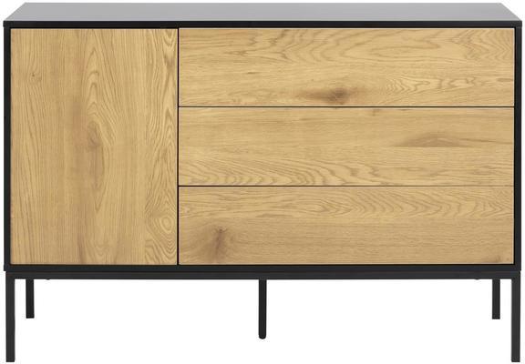 Seafor 1 door 3 drawer sideboard image 2
