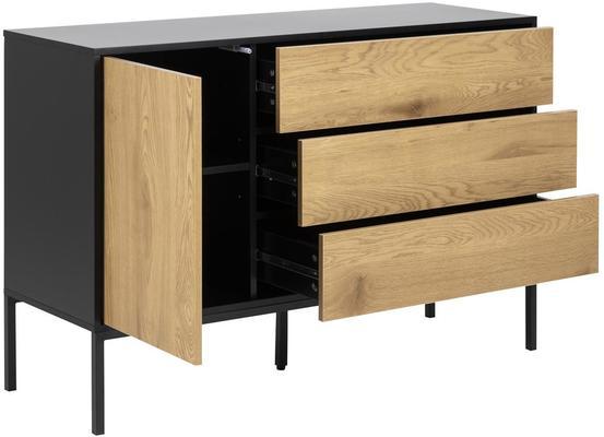 Seafor 1 door 3 drawer sideboard image 3