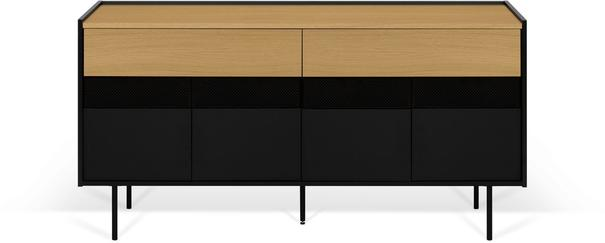Radio 2 drawer 4 door sideboard