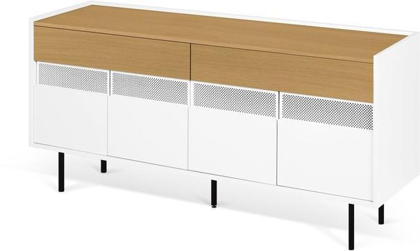 Radio 2 drawer 4 door sideboard image 11