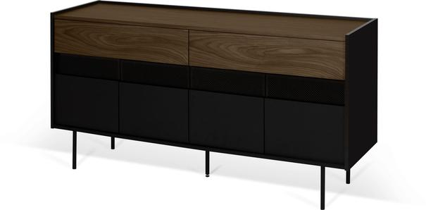 Radio 2 drawer 4 door sideboard image 12