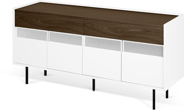 Radio 2 drawer 4 door sideboard image 13