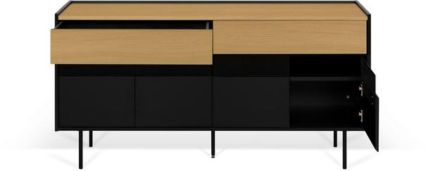 Radio 2 drawer 4 door sideboard image 14