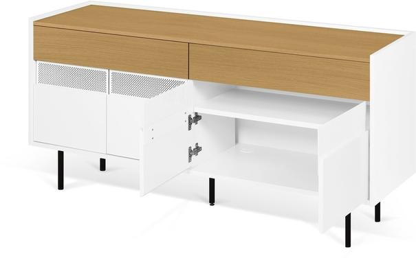 Radio 2 drawer 4 door sideboard image 15