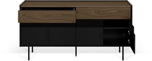 Radio 2 drawer 4 door sideboard image 16