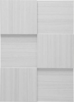 Treviso Three Door Sideboard- Silver Grey Finish image 4