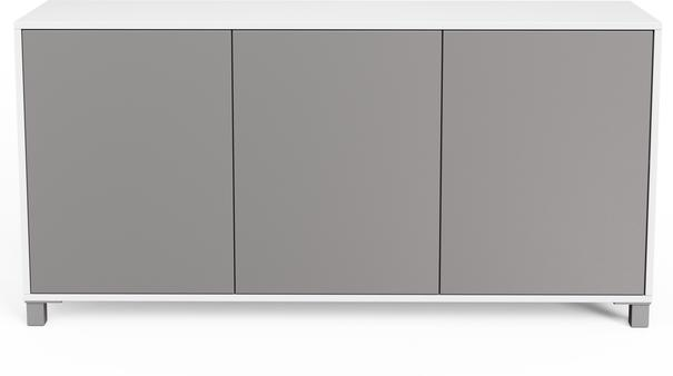 Frank Olsen LED Smart Click Sideboard - White and Grey  image 5