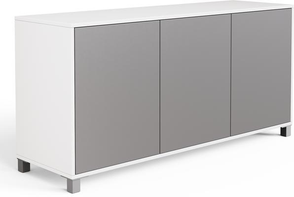 Frank Olsen LED Smart Click Sideboard - White and Grey  image 6
