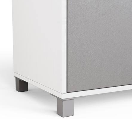 Frank Olsen LED Smart Click Sideboard - White and Grey  image 7