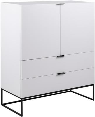 Kiba 2 door 2 drawer cabinet (Sale)