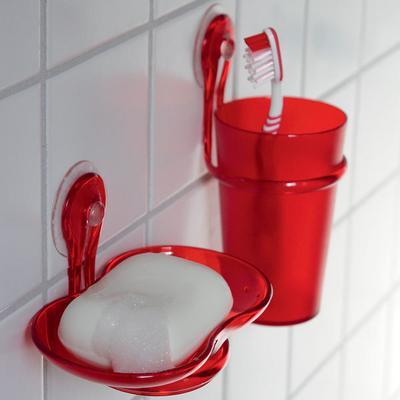 Koziol Loop Soap Dish and Tumbler