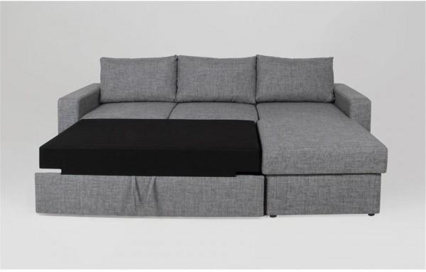 Delaware Lux sofa bed chaise image 4