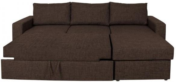 Delaware Lux sofa bed chaise image 5
