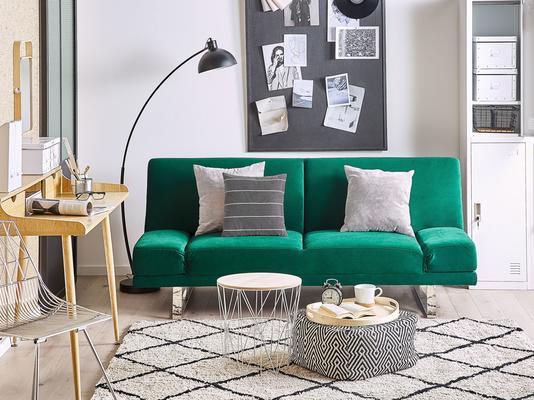 YORK Beige Modern Upholstered Sofabed image 7
