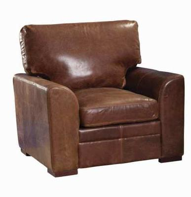 Seattle Two Seater Handmade Leather Sofa image 5