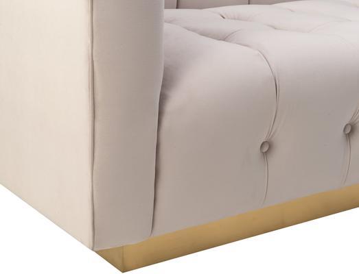 Webster Contemporary Sofa Buttoned Velvet - Grey or Blue image 17