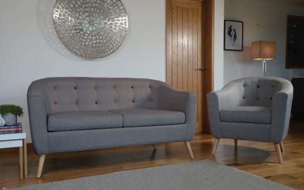 Scande 3 seater sofa image 5