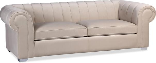 Oxford Velvet Deep Sofa 227cm