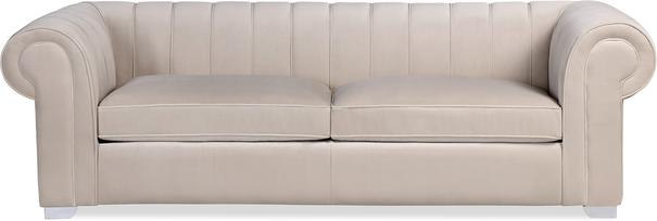 Oxford Velvet Deep Sofa 227cm image 2