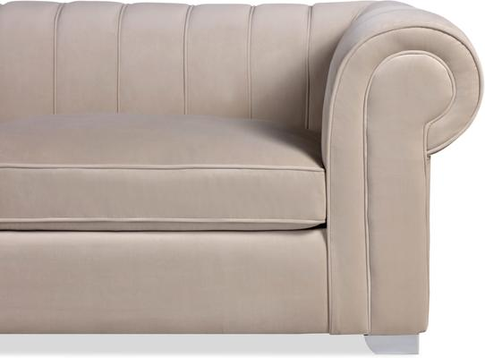 Oxford Velvet Deep Sofa 227cm image 4