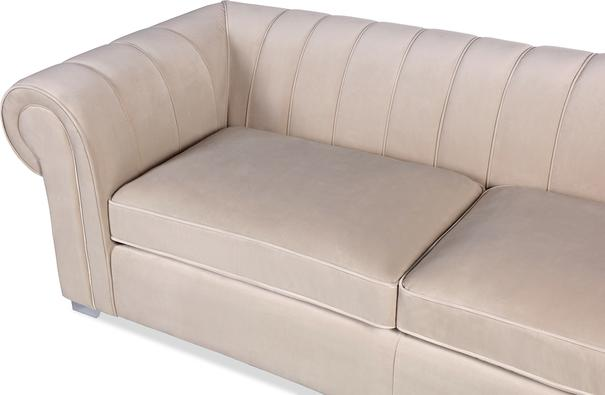 Oxford Velvet Deep Sofa 227cm image 5