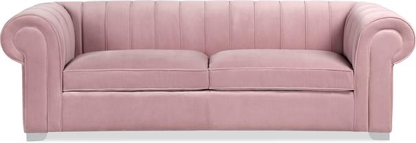Oxford Velvet Deep Sofa 227cm image 7