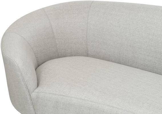 Lazy Minimalist Velvet or Linen Sofa image 4