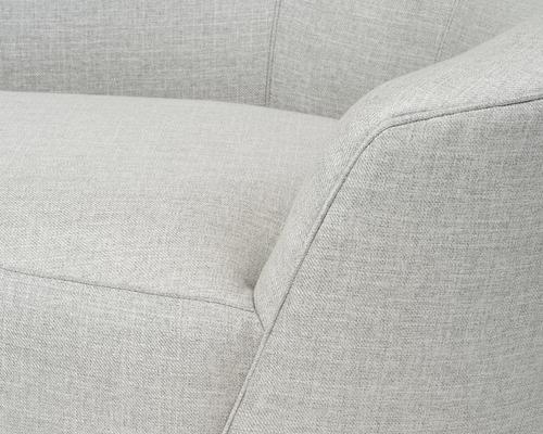 Lazy Minimalist Velvet or Linen Sofa image 6