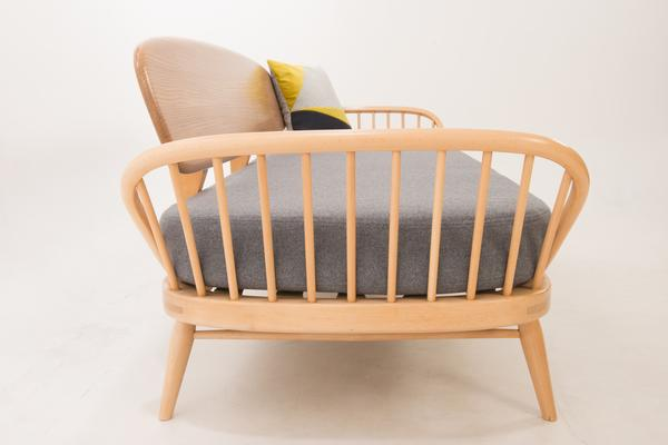 Ercol Original Studio Couch/Daybed 355 Blonde image 7