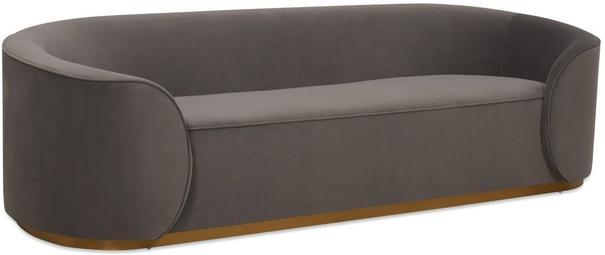Rondo Modern Sofa Light or Dark Grey image 5