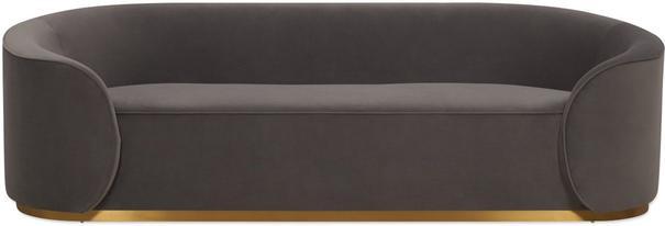 Rondo Modern Sofa Light or Dark Grey image 6