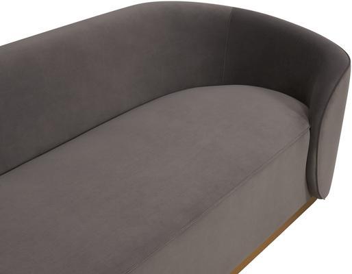 Rondo Modern Sofa Light or Dark Grey image 8