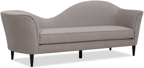 Allegro Swirl Velvet Sofa Green or Grey