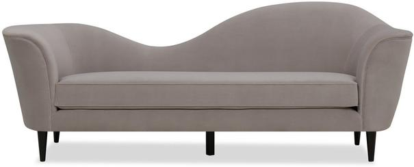 Allegro Swirl Velvet Sofa Green or Grey image 2