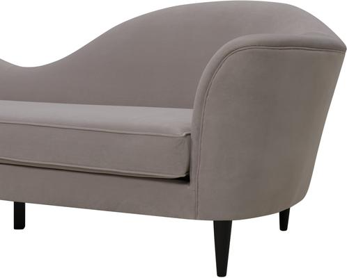Allegro Swirl Velvet Sofa Green or Grey image 3