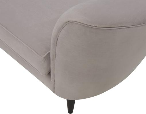 Allegro Swirl Velvet Sofa Green or Grey image 5