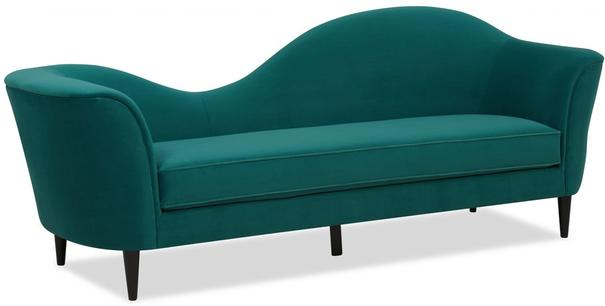 Allegro Swirl Velvet Sofa Green or Grey image 6