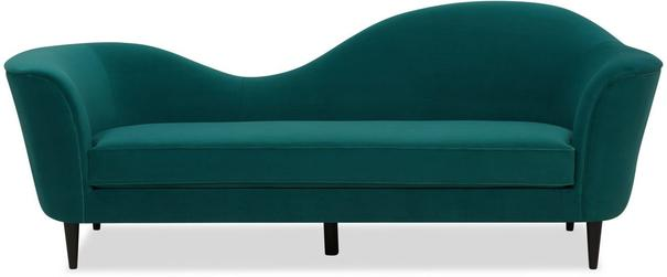 Allegro Swirl Velvet Sofa Green or Grey image 7