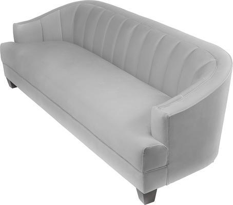 Olsen Velvet Sofa image 3