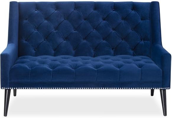Richmond Sofa in Blue or Mink Velvet image 7