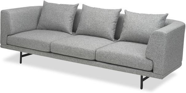Mossi Three Seat Sofa in grey or honey image 2